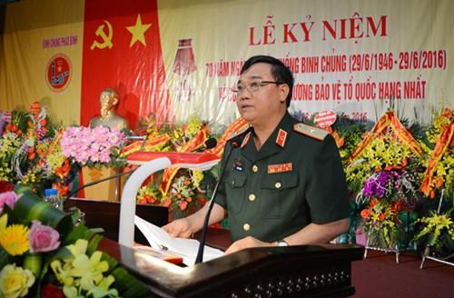 Kỷ niệm 70 năm ngày thành lập Binh chủng Pháo binh