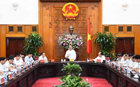 Thủ tướng Nguyễn Xuân Phúc làm việc với lãnh đạo tỉnh Thanh Hóa