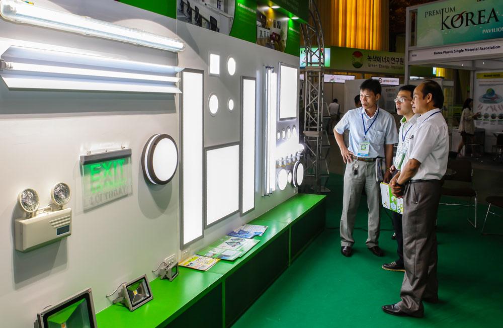 Hà Nội lần đầu tiên có triển lãm quốc tế thiết bị chiếu sáng