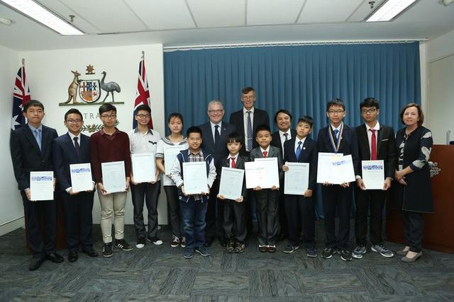 Thí sinh Việt Nam đoạt giải cao trong cuộc thi Toán học Australia