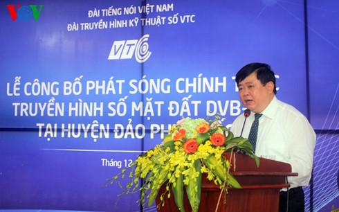 Đài Tiếng nói Việt Nam chính thức phát sóng truyền hình số mặt đất tại Phú Quốc, Kiên Giang