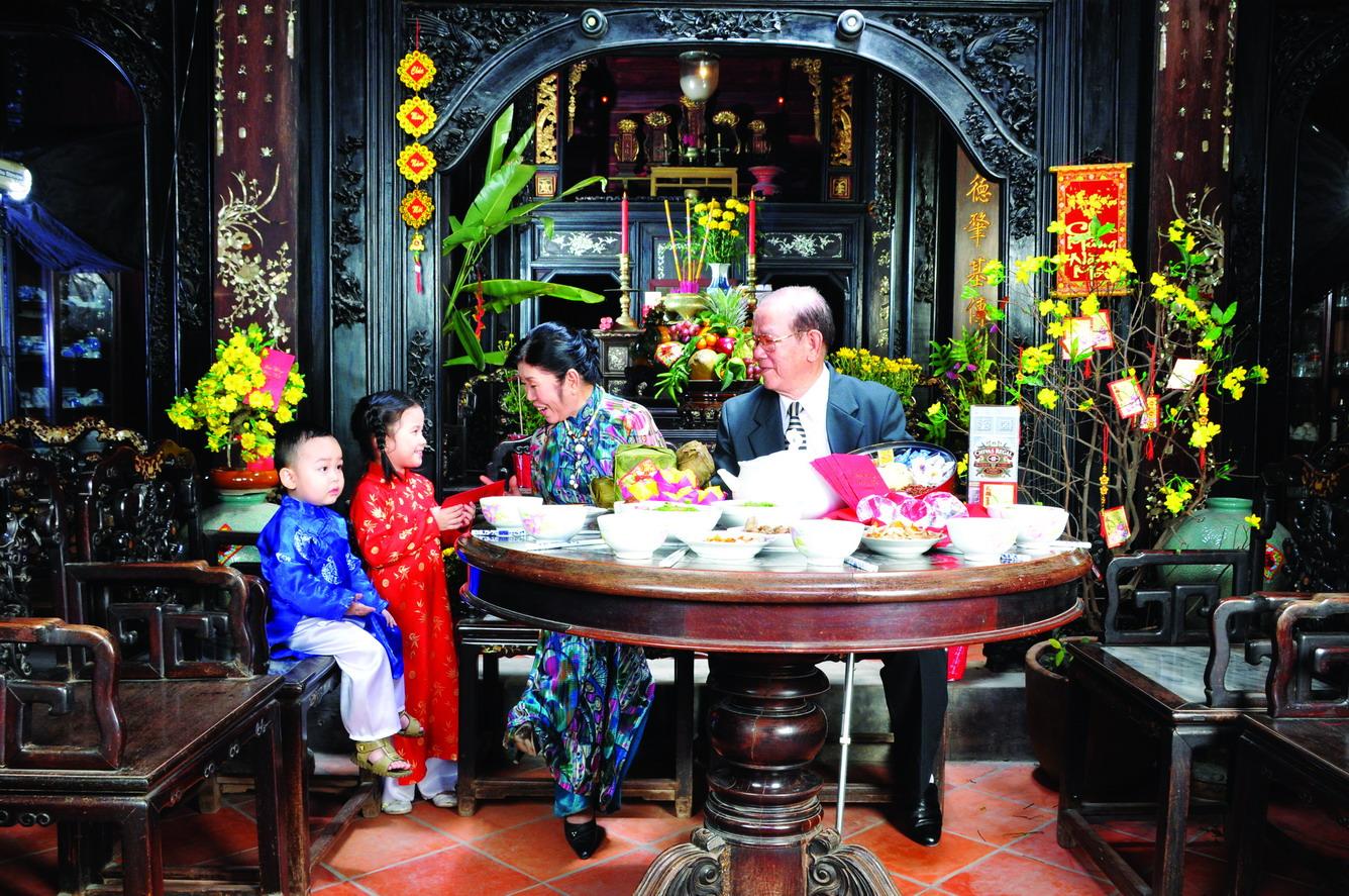 Chiều cuối năm trong gia đình người Việt
