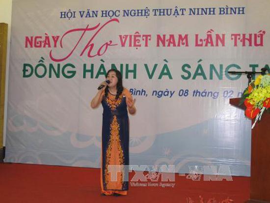Nhiều hoạt động hưởng ứng Ngày thơ Việt Nam lần thứ 15