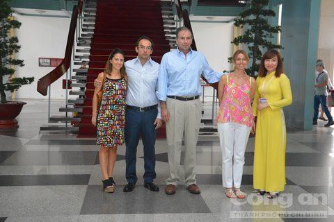 Lãnh đạo Thành phố Hồ Chí Minh tiếp Chủ tịch Đảng Đề xuất Cộng hoà Argentina