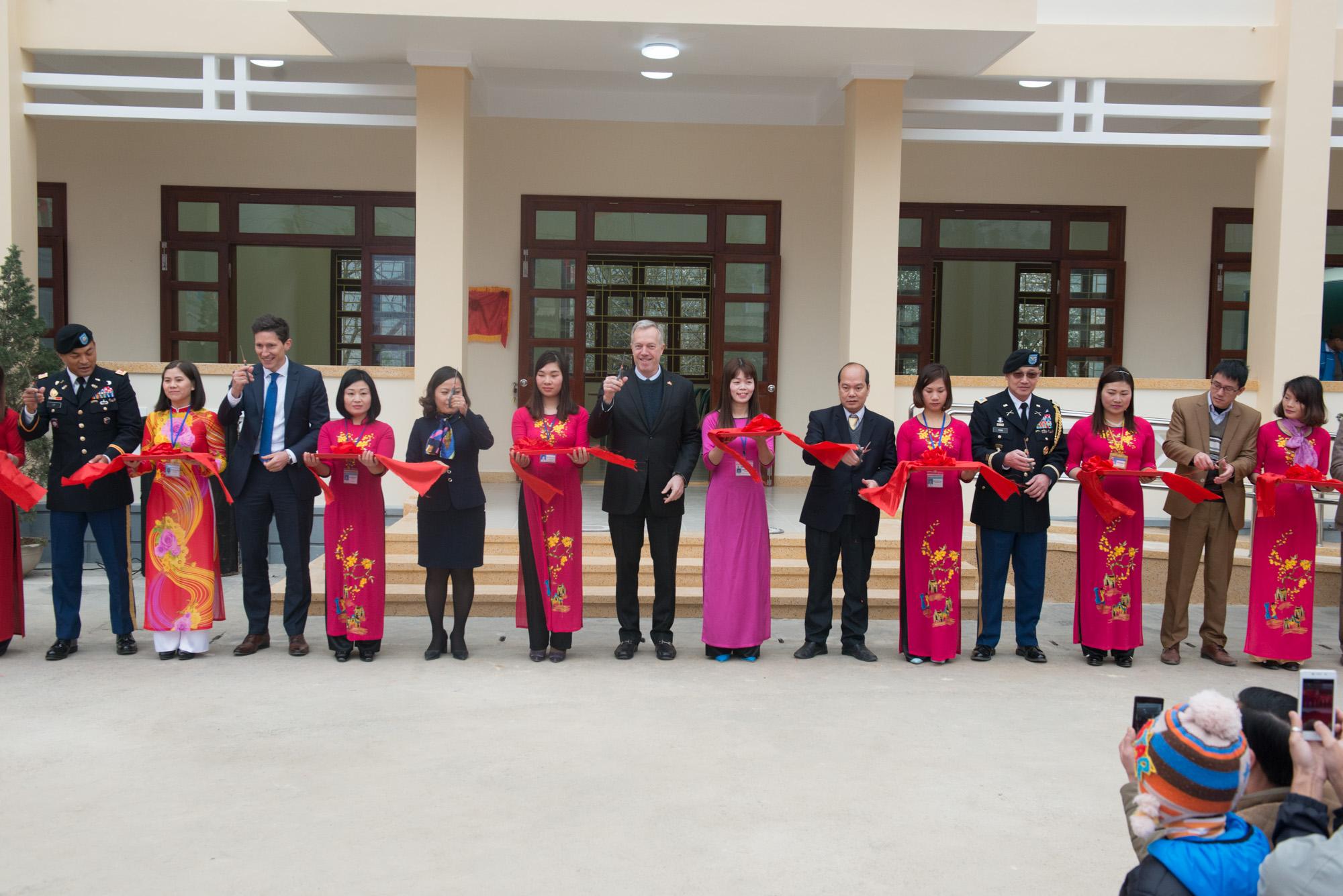 Khánh thành trường học do Hoa Kỳ hỗ trợ vốn xây dựng tại Hà Giang