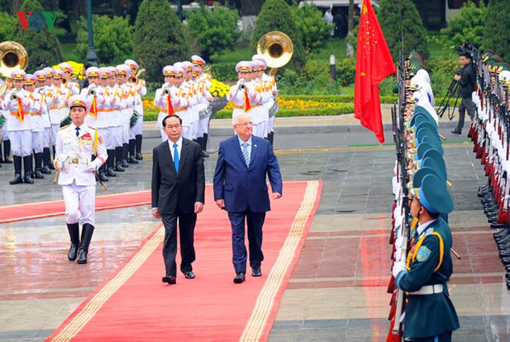 Tổng thống Nhà nước Israel và Phu nhân kết thúc tốt đẹp chuyến thăm cấp Nhà nước tới Việt Nam