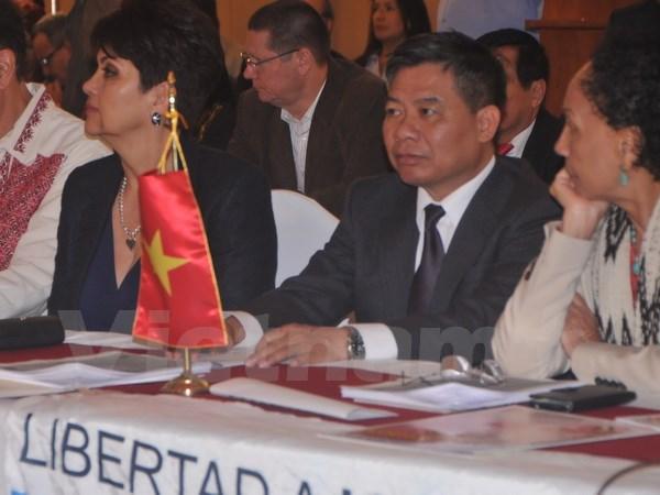 Việt Nam ủng hộ phong trào cánh tả thế giới vì hòa bình và thịnh vượng