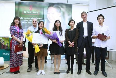 Cuộc thi hùng biện tiếng Anh toàn cầu EF Challenge 2017