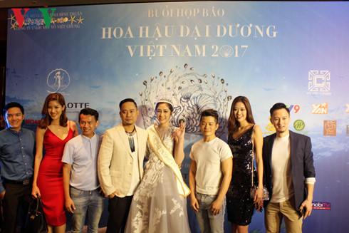 Khởi động cuộc thi Hoa hậu đại dương 2017