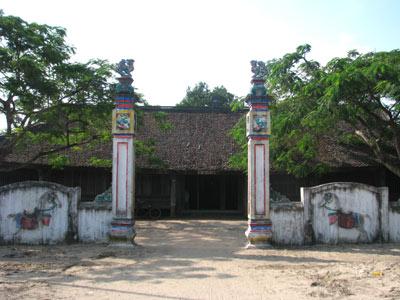 ศาลเจ้าจ่าโก๋ สัญลักษณ์วัฒนธรรมเวียดนาม  ณ จุดเหนือสุดทางทิศตะวันออกเฉียงเหนือของประเทศ