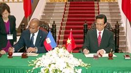 Vietnam, Haiti strengthen bilateral ties