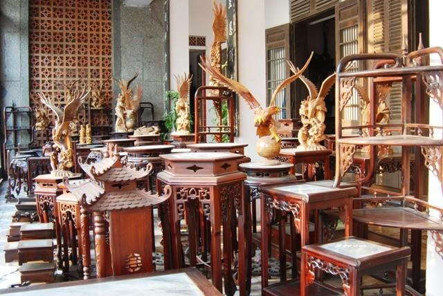 Деревня Хайминь, в которой изготавливают знаменитые изделия из дерева