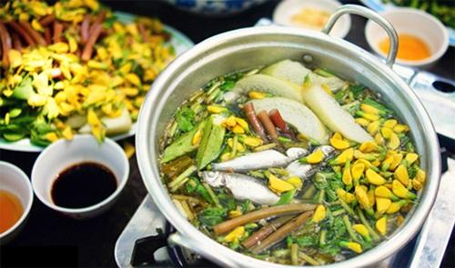 Традиционная кухня района Донгтхап-Мыой