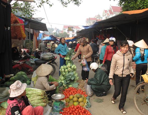 Новогодний деревенский базар