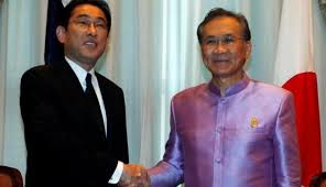 Thailand supports Japan's higher international role
