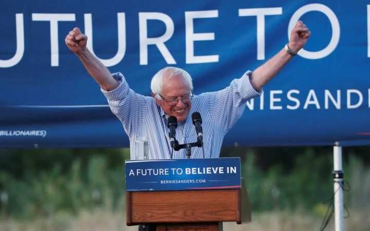 Bernie Sanders says he will vote for Hillary Clinton