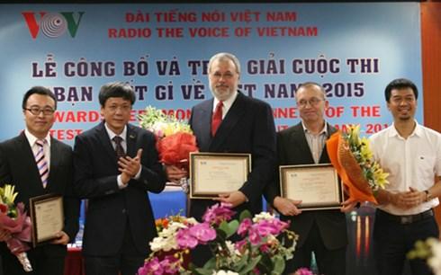 การประกวดความรู้เกี่ยวกับเวียดนามในโอกาสฉลองครบรอบ 70 ปีวันก่อตั้งสถานีวิทยุเวียดนาม