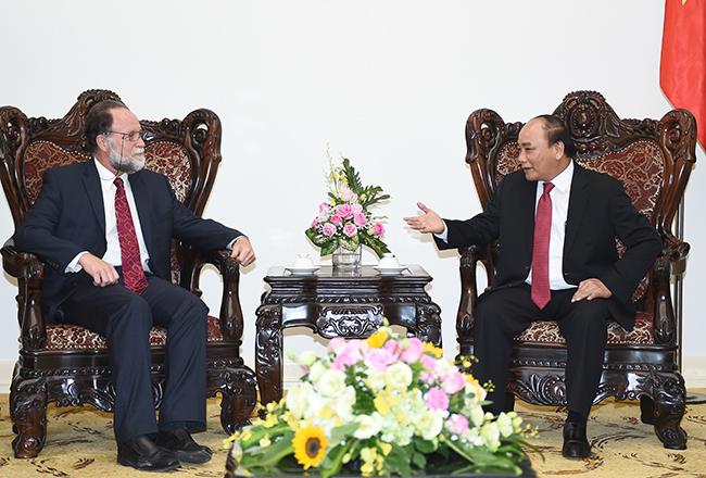 นายกรัฐมนตรีเวียดนามให้การต้อนรับผู้อำนวยการศูนย์การพัฒนาระหว่างประเทศของมหาวิทยาลัยฮาร์วาร์ด