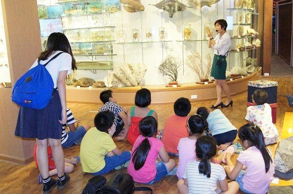 กิจกรรมค้นคว้าธรรมชาติในพิพิธภัณฑ์ธรรมชาติวิทยาเวียดนาม