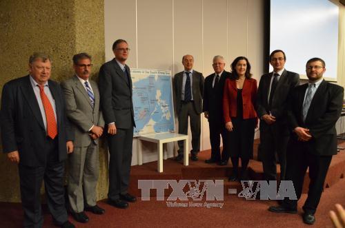 บรรดานักวิชาการระหว่างประเทศย้ำถึงความจำเป็นของความร่วมมือเพื่อแก้ไขปัญหาการพิพาทในทะเลตะวันออก
