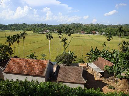 โครงสร้างแผนผังของหมู่บ้านในเวียดนาม