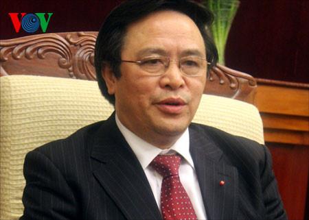 การเยือนจีนของเลขาธิการใหญ่พรรคฯเวียดนามผลักดันความสัมพันธ์ระหว่างเวียดนามกับจีน