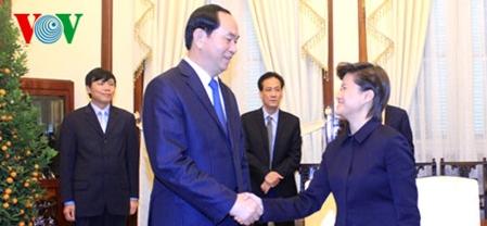 ประธานประเทศให้การต้อนรับเอกอัครราชทูตสิงคโปร์