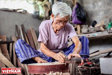 หมู่บ้านทำเครื่องดนตรีด่าวซ้า-สถานที่เก็บรักษาเครื่องดนตรีพื้นเมืองของเวียดนาม