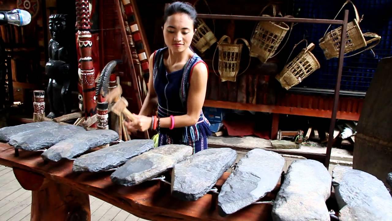 ระนาดหิน เครื่องดนตรีโบราณของชนเผ่าเกอฮอ