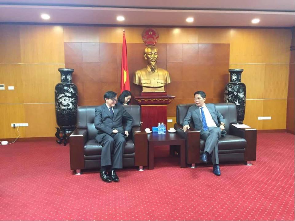 ไทยและเวียดนามร่วมมือกันอำนวยความสะดวกให้กับผู้ประกอบการของทั้งสองฝ่าย