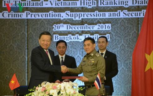 การสนทนาด้านความมั่นคงครั้งแรกระหว่างเวียดนามกับไทย