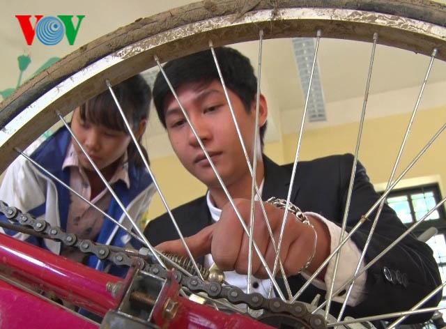 โครงการให้ยืมจักรยาน การจุดประกายความฝันของนักเรียนยากจน
