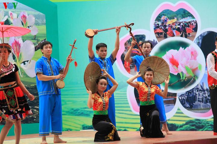 เทศกาลดอกกาหลงเดียนเบียน2017 ศูนย์รวมวัฒนธรรมชนเผ่าในเขตเขาตอนบน