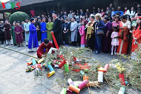 Rộn ràng Tết Việt tại đình So - ngôi đình đẹp xứ Đoài