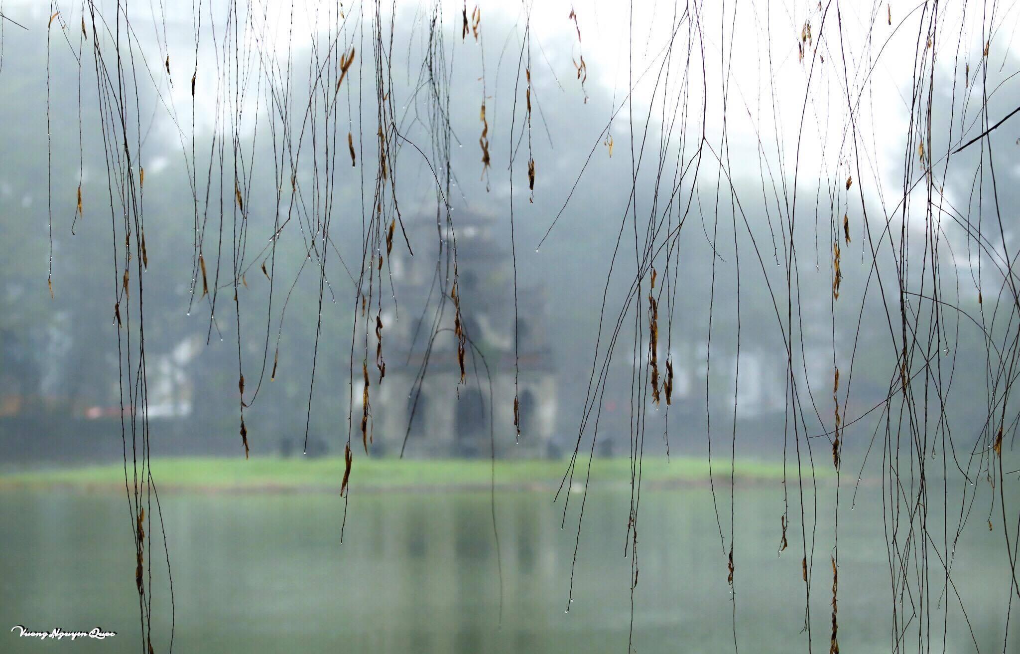 Hoài cảm mưa phùn Hà Nội