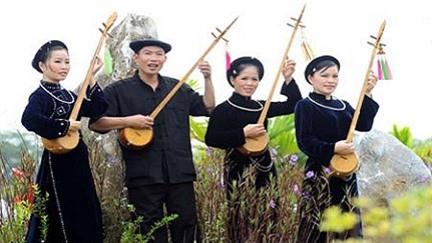 Народные песни - неотъемлемая часть повседневной жизни народности Нунг