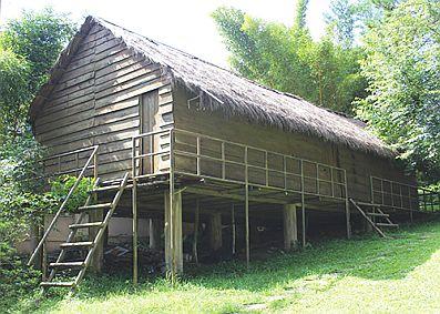 Архитектура жилых домов народности Кохо