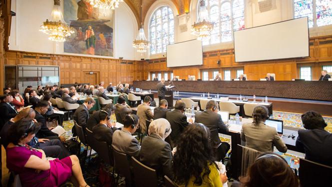 Восточное море в 2016 году после вердикта Международного арбитражного суда в Гааге