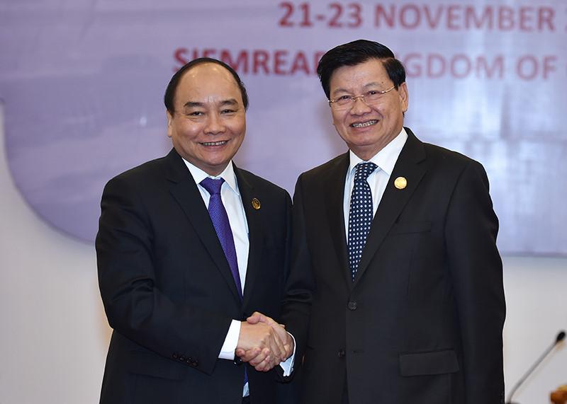 Особые традиционные отношения между Вьетнамом и Лаосом непрерывно развиваются