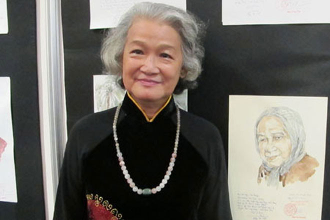 Painter traverses the nation to portray heroic Vietnamese mothers