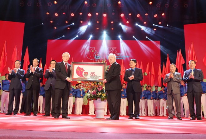 Ho Chi Minh Communist Youth Union celebrates 85th anniversary