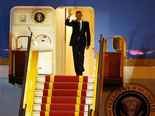 World media gives positive view on President Obama's Vietnam visit