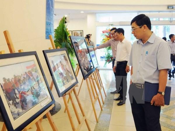 Photos about Truong Sa archipelago on display