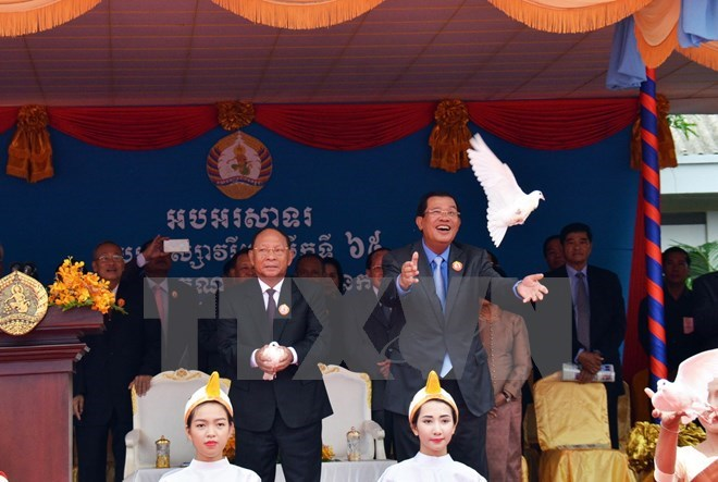 Ruling Cambodian People's Party marks 65th anniversary