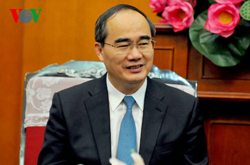 President of Vietnam Fatherland Front Central Committee visits South Korea