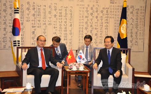 Vietnam, South Korea pledge broader strategic partnership
