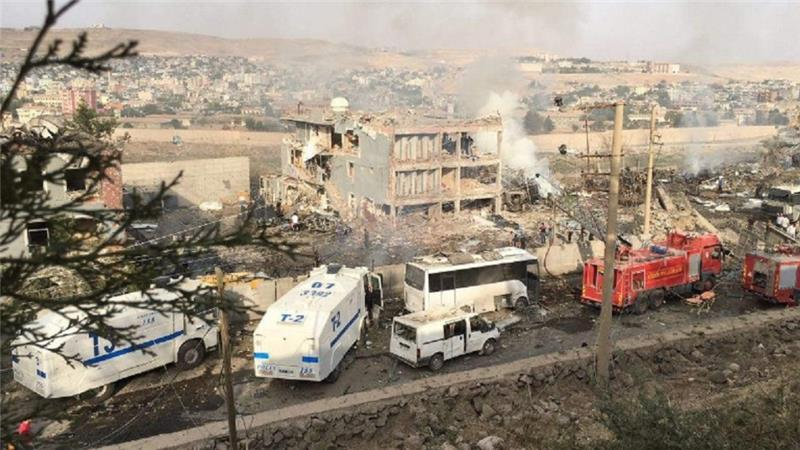 PKK claims responsibility for police headquarters bombing in Turkey