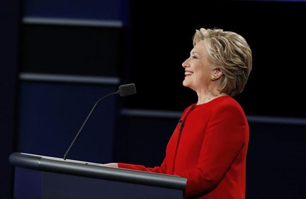 US Presidential Election: Clinton delivers impressive performance at first debate