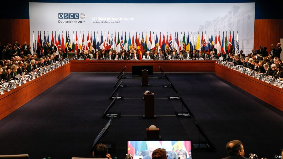 OSCE divided over Ukraine, Syria