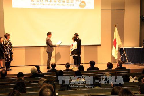 Vietnamese author wins silver at Japan manga awards